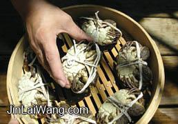 大闸蟹吃法